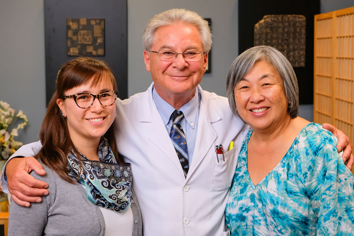 Dr Martin Rossman and the Friendly Staff at Marin Integrative Health